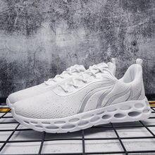 Новинка 2020 мужские кроссовки для бега Легкие уличные спортивные