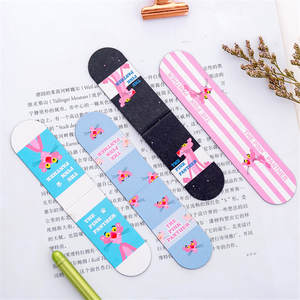 Magnetic Bookmarks Flip-Book-Clip Stationery Paper-Label Creative Cute Kawaii Mini Student