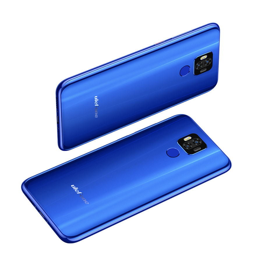 "Image 5 - Ulefone power 6 Smartphone Android 9.0 Helio P35 Octa core 6350mah 6.3"" 4GB 64 GB 16MP face ID NFC 4G LTE Global Mobile Phones-in Cellphones from Cellphones & Telecommunications"
