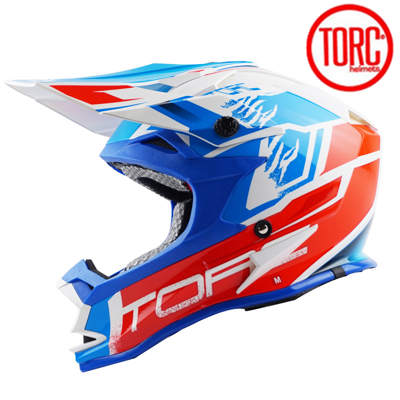 TORC T321 Professional Racing Motocross Casque  Retro Off Road  Casque Moto Capacete Moto Casco Man casco motocross With Goggles