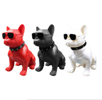 French Bulldog Bluetooth Speaker Full Body Dog Stereo Outdoor Mini Small speakers computer home speakers bluetooth bulldog