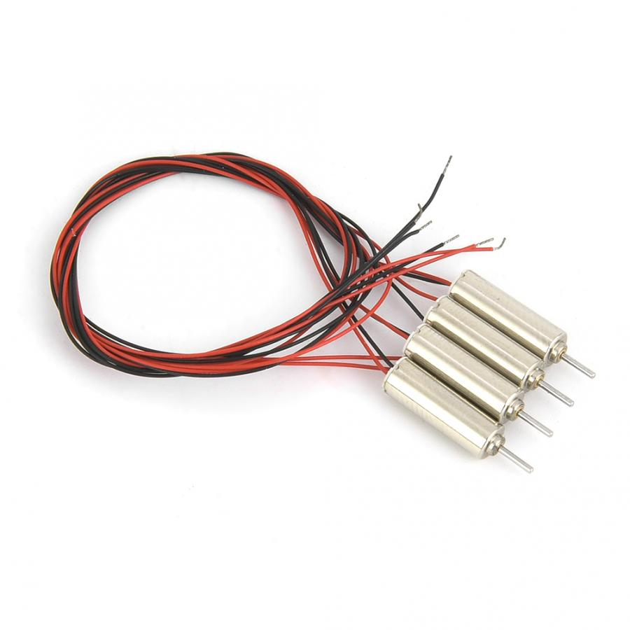 Steering <font><b>Motor</b></font> 4pcs DC <font><b>4.5V</b></font> 31440RPM Coreless <font><b>Motor</b></font> 4x12mm Micro <font><b>Motor</b></font> for RC Helicopter Toy image