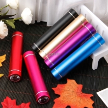 Box-Case Flashlight Power-Bank 18650 Battery Usb-Charger DIY Aluminum with LED for iPhone