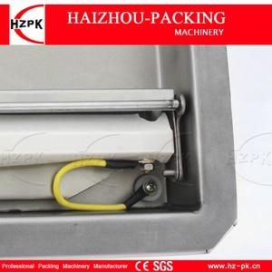 Image 5 - HZPK נירוסטה Stee תא קפה אגוז פלסטיק שקיות איטום מטבח מזון אוטומטי מסחרי קטן מכונת אריזת ואקום DZ260