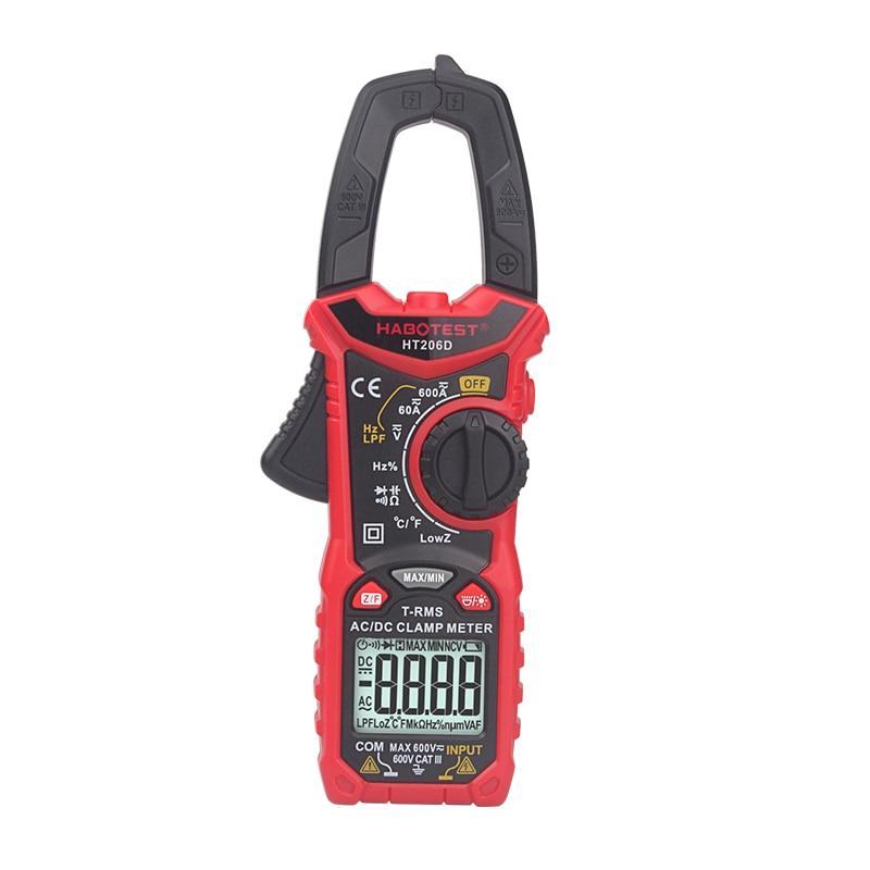 Aletler'ten Pens Ampermetreler'de Habotest HT206D AC DC dijital pens metre multimetre pinza amperimetrica title=