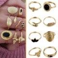 2021 креативные модные кольца, специальное предложение, кольцо на палец, набор колец в богемном стиле, винтажный набор колец на палец, 8 шт.
