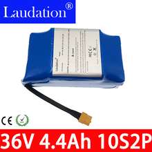 36V 4.4Ah Li-ion Battery  Balance Scooter High Drain 2 wheel Electric Scooter Balancing Battery For Self-balancing Fit 6.5