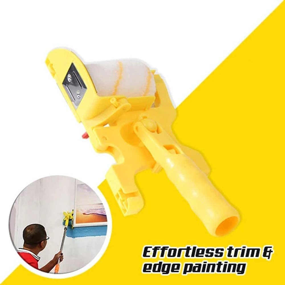 Portable Safe Tools Multi-function Roller Multifunctional Handheld Clean-Cut Edger Roller Paint Brush Paint Brush(China)