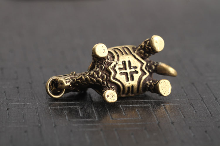 Dragon Turtle Keychains Pendants  (1)