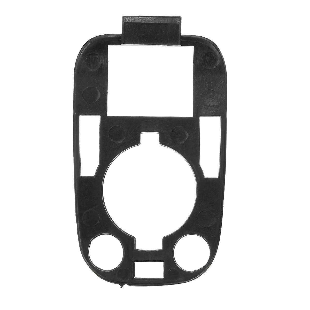 Czarny L & R klamka pokrywa zamka Cap Case tapicerka z uszczelką w/uszczelki dla PEUGEOT 307 dla CITROEN C2 C3 03-09 ochronna pokrywa zamka