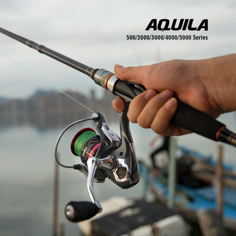 Goture aquila potência carretel de pesca 500-5000