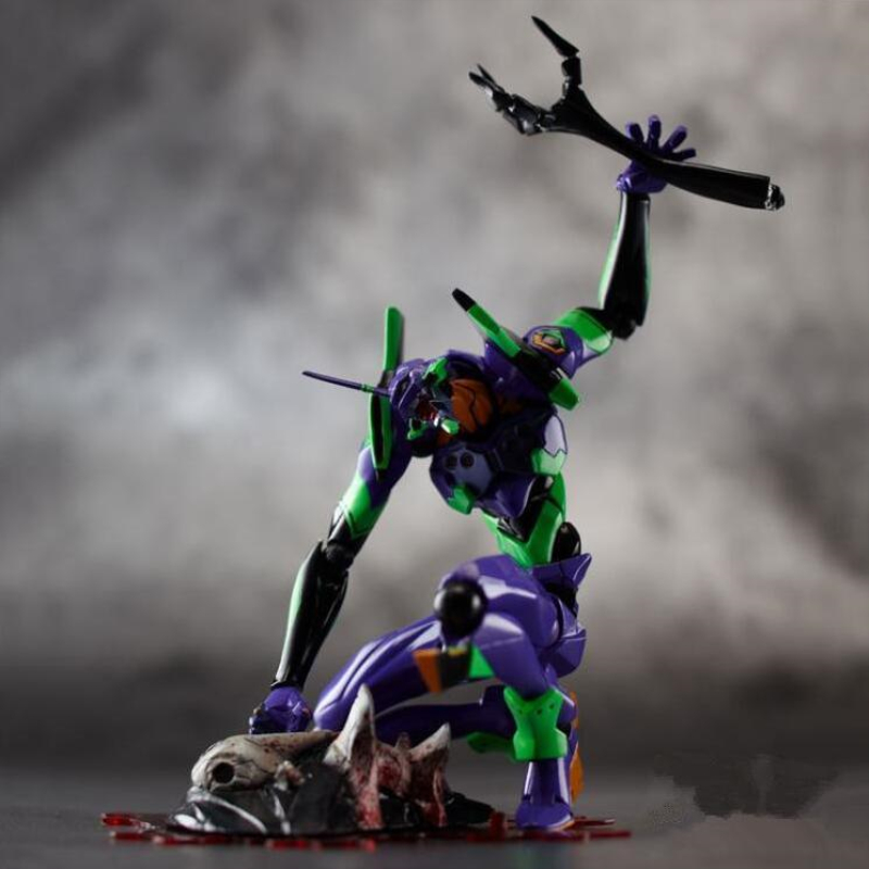 Image 5 - evangelions 6cm NEON GENESIS EVA light Action figure toys collection doll Christmas birthday gift with box Speelgoed PopAction & Toy Figures   -