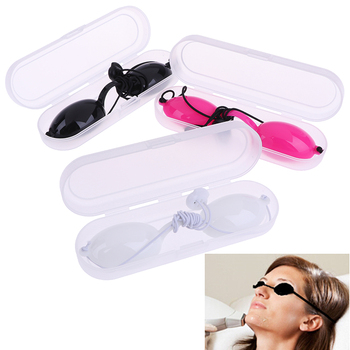1X Adjustable Full shading Safety Eyepatch Glasses Laser Light Protection Goggles for Tattoo Photon Beauty Clinic Patient - discount item  30% OFF Health Care