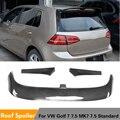 Углеродное волокно/FRP задний спойлер на крыло  крышу губ для Volkswagen VW Golf 7 VII MK7 Хэтчбек 4-дверный стандарт 2014 - 2019