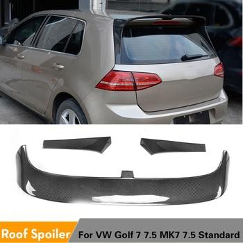 Fibra de carbono/FRP ala trasera del alerón del techo labio para Volkswagen VW Golf 7 VII MK7 Hatchback 4 puertas estándar 2014 - 2019