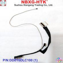 Original novo Cabo LCD para HP Spectre-13 X360 13T-4100 LCD EDP LVDS CABO DD0Y0DLC100 DD0Y0DLC110 40pin