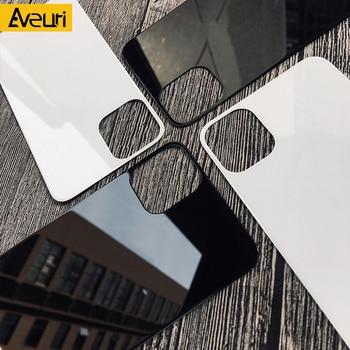 Color Back Tempered Glass Film For Apple iPhone 12 Pro Max Back Glass Full Cover For iPhone 11 Pro X