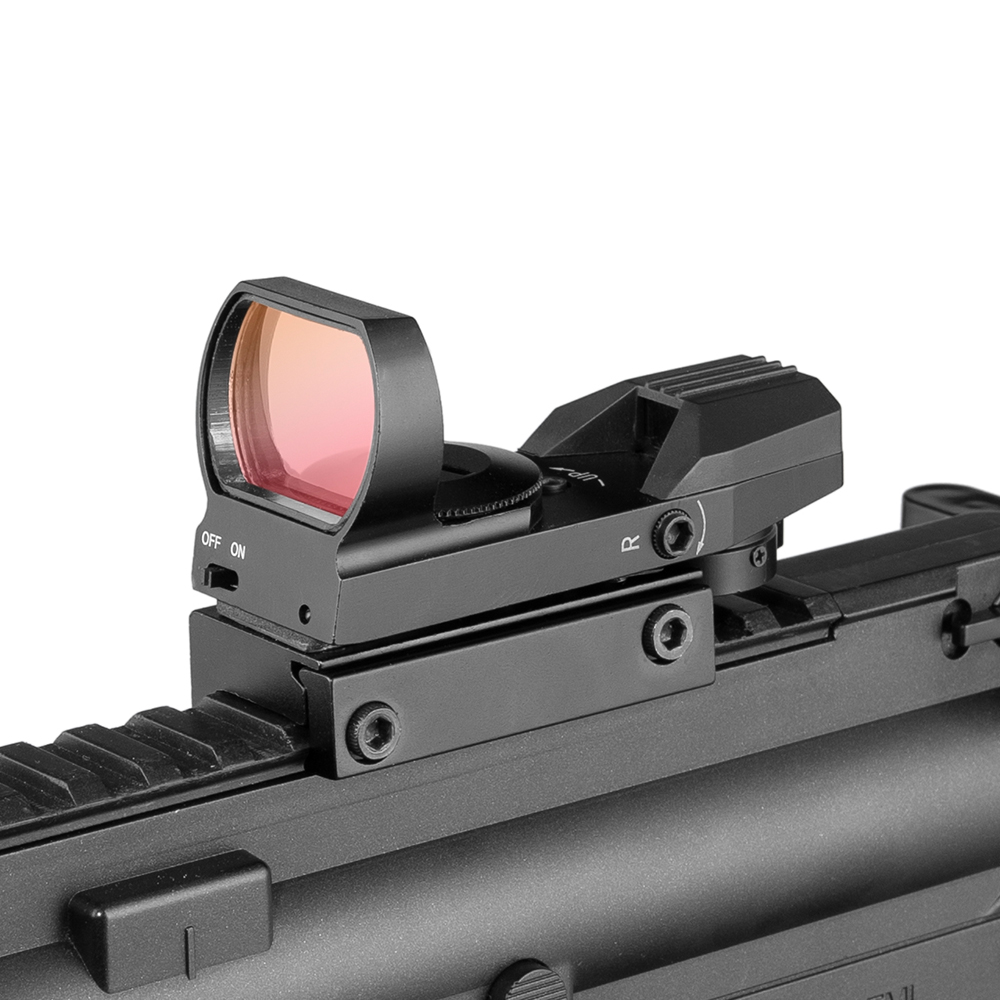 Hot 20mm Rail Riflescope Hunting Optics Holographic Red Dot Sight Reflex 4 Reticle Tactical Scope Collimator Sight|Riflescopes| |  - title=
