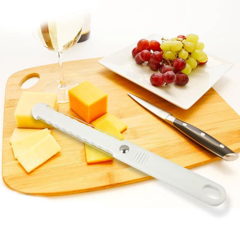 <font><b>Plastic</b></font> <font><b>Cheese</b></font> Butter Cutter <font><b>Cheese</b></font> Butter Slicer Peeler Cutter Tool With Wire Thick Hard Soft Handle Goose Liver Cut image