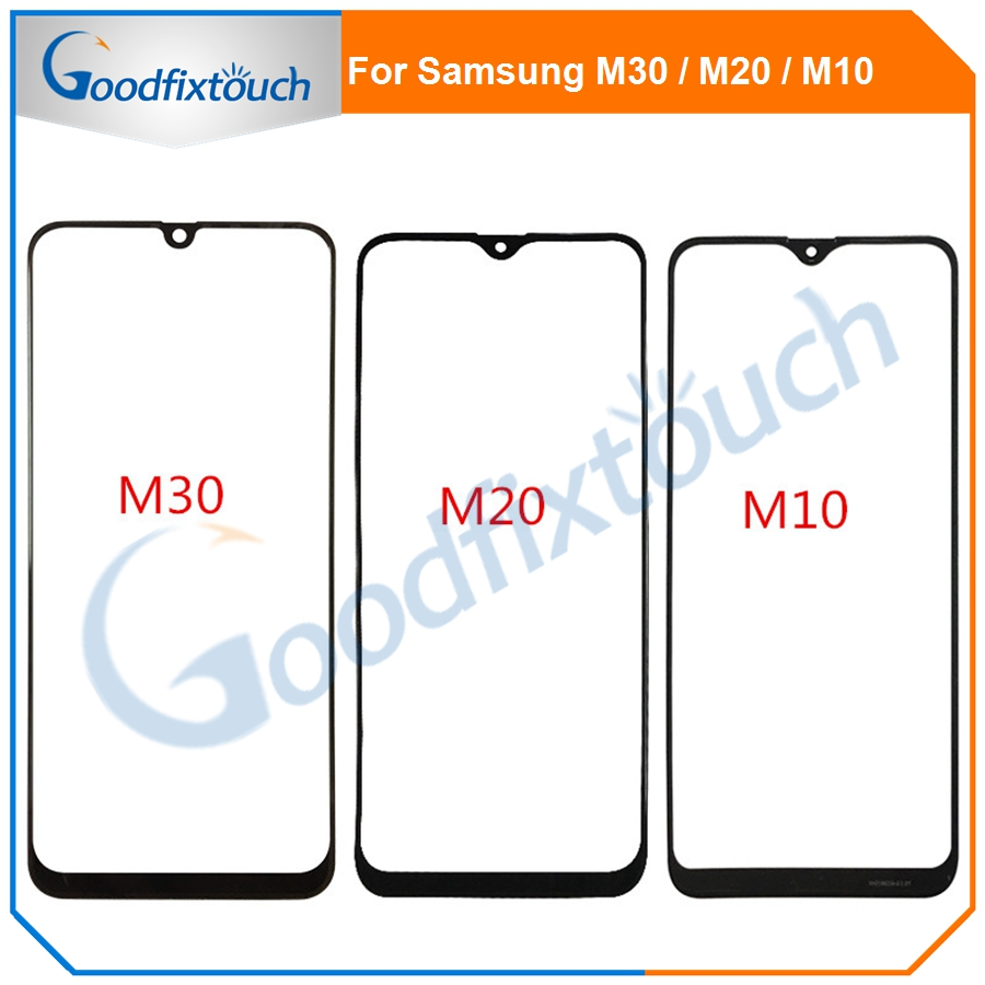 For <font><b>Samsung</b></font> Galaxy M30 <font><b>M10</b></font> M20 Touch <font><b>Screen</b></font> Front Glass Panel <font><b>LCD</b></font> Outer Display Lens M30 <font><b>M10</b></font> M20 Front Glass image