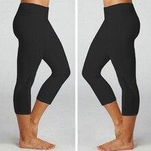2020 New 3/4 Fitness Leggings women's Yoga Pants Gym Leggings sports Running women Tights Sports Fitness Gym Yoga Pants #YL5