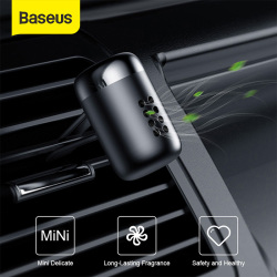 Baseus Car Air Freshener Aromatherapy Auto Air Outlet Perfume Long-lasting Car Fragrance Clip Diffuser Solid Car Perfume