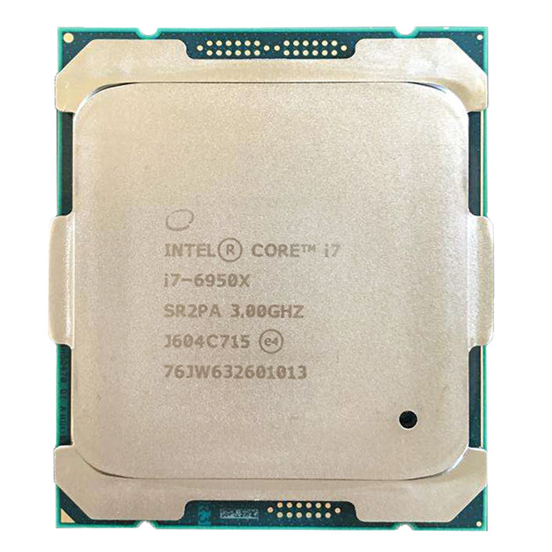Original Intel Core Extreme Edition CPU I7-6950X 3.00GHz 25MB 10-Cores SR2PA LGA2011-3 Processor I7 6950X Free Shipping