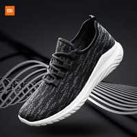 Xiaomi Mijia Youpin nuevos zapatos para hombres zapatillas de deporte tejidas voladoras tendencia Casual zapatos para hombres Fitness correr ejercicio