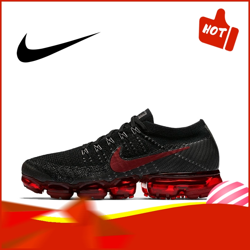 Original Authentic Nike Air VaporMax Be True Flyknit Men's Running Shoes Outdoor Sports Shoes Classic Breathable 849558-013