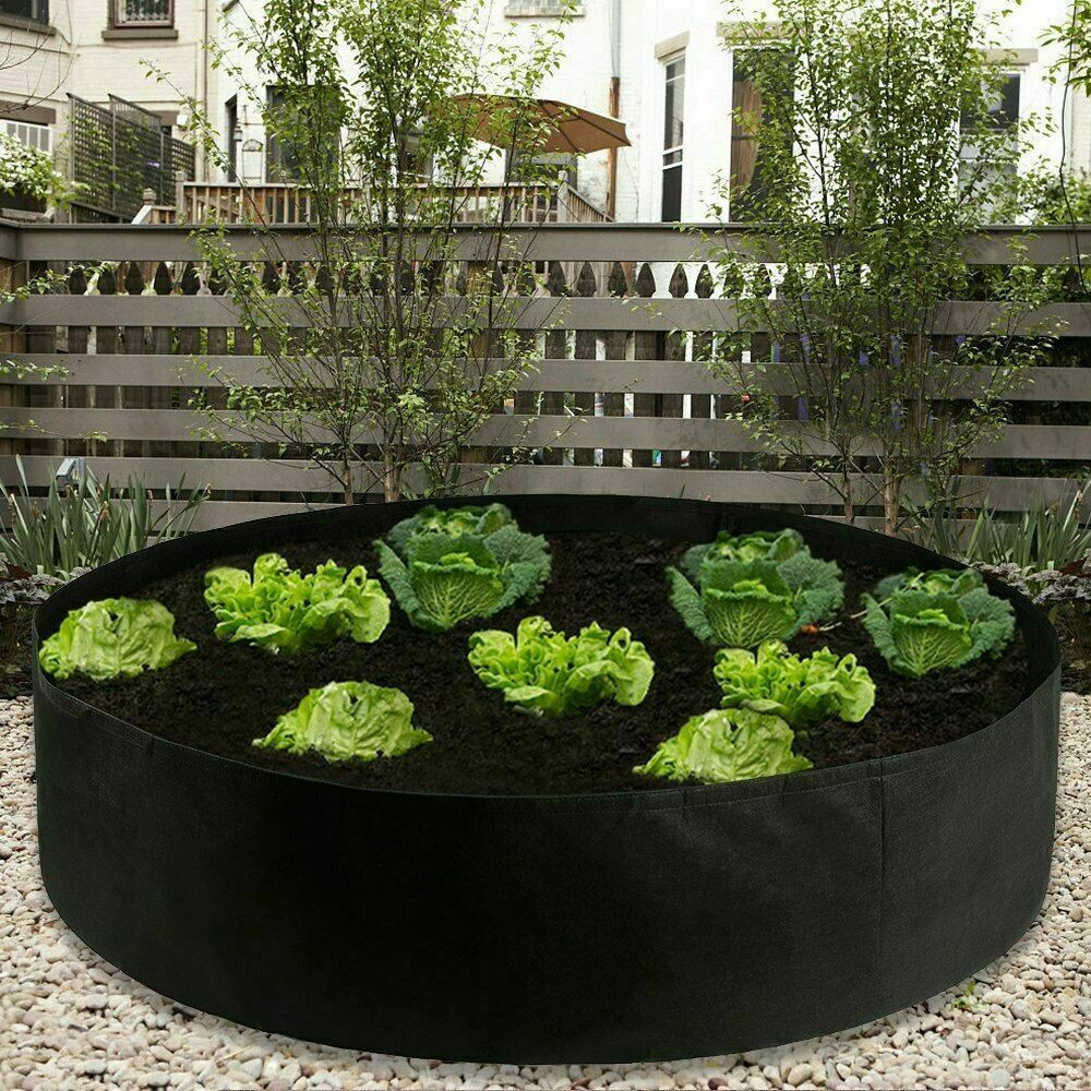 Raised Plant Bed Garden Flower Planter Elevated Vegetable Box Breathable Planting Grow Bag Balcony Home Gardening Tools 2020 HOT
