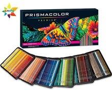 Оригинальный карандаш для рисования Prismacolor Premier 72, 150 цветов, масляный карандаш 4,0 мм с мягким сердечником, карандаш для рисования Sanford Prismacolor ...