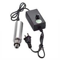 1PC 6V-24V Mini Electric Drill DIY 385 DC Motor w/ JT0 Chuck 24V Power Supply Power Tool