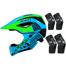 Cycling-Helmet Light Downhill Kids Full-Face Sports-Safety-Equipment Pro-Protection