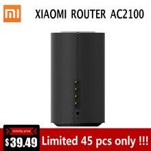 Xiao mi роутер AC2100 2,4 ГГц 5 ГГц 1733 Мбит/с mi WiFi повторитель гигабитный Ethernet порт WiFi 128 МБ двухъядерный процессор управление приложением для mi home