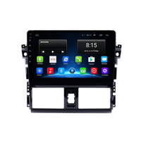 "10.1"" 4G LTE Android 8.1 Fit TOYOTA VIOS YARIS 2013 2014 2015 2016 Multimedia Stereo Car DVD Player Navigation GPS Radio"
