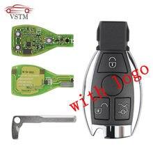 Coque de clé intelligente avec Logo, jeton MB BGA XHORSE VVDI BE Key Pro pour be-nz V1.5 PCB, Version améliorée