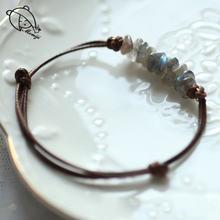 Браслеты momiji ручной работы с кристаллами для женщин цепочка