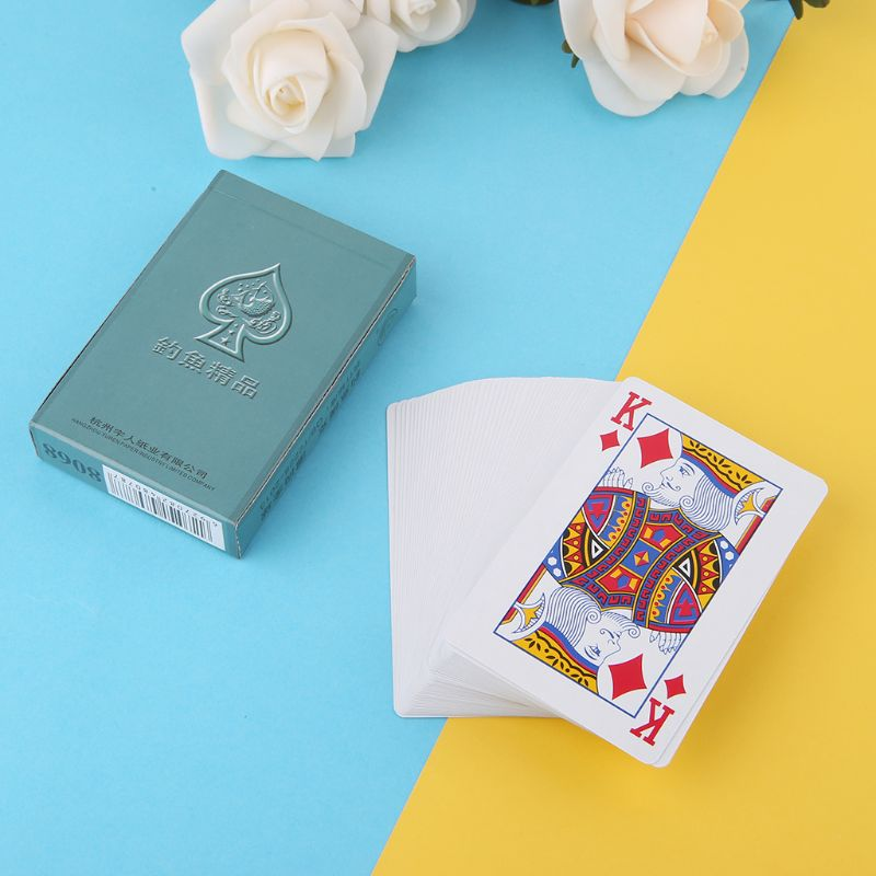 Secret Marked Poker Cards Perspective Playing Cards Magic Props Simple But Unexpected Magic Tricks