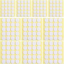 500pcs vela pavio adesivos resistência ao calor vela que faz adesivos de dupla face