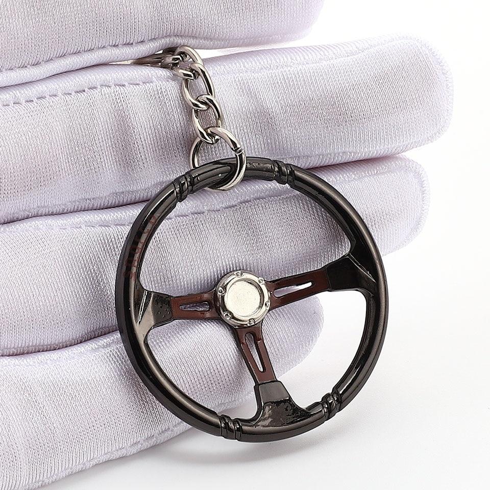 Steering Wheel Dodge R//T Keychain /& Keyring