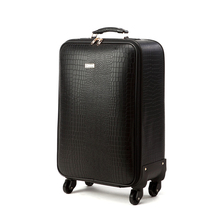 Brand Cowhide rolling luggage Real Leather trolley suitcase universal wheel men #8217 s luxury luggage bags female travel luggage cheap Vnelstyle Genuine Leather Cow Leather 3 8-5 2kg 55cm 23cm Spinner 40cm 1781 Unisex