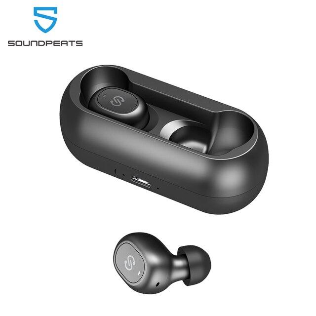 SoundPEATS TWS Bluetooth 5.0 Earphones In Ear Wireless Earbuds Stereo Bass Sound Mini True Wireless Bluetooth Earbuds