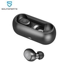 Soundpeats Tws Bluetooth 5.0 Koptelefoon In Ear Draadloze Oordopjes Stereo Bass Sound Mini True Draadloze Bluetooth Oordopjes