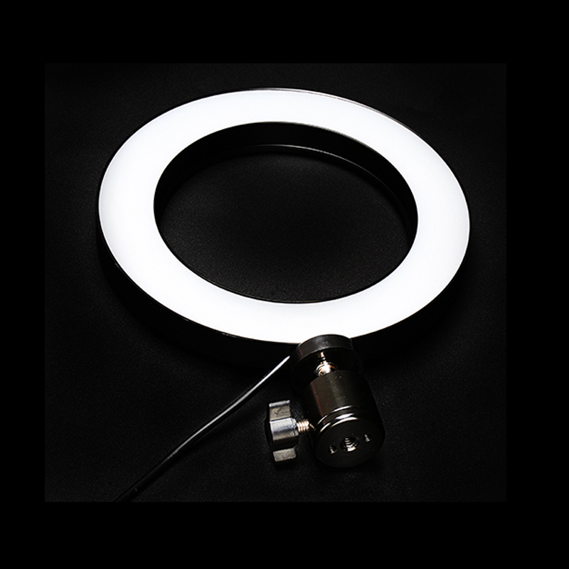 High Quality Dimmable Photography LED Selfie <font><b>Ring</b></font> <font><b>Light</b></font> <font><b>16</b></font>/26cm <font><b>Ring</b></font> Lamp Fill <font><b>Light</b></font> For Makeup Video Live Studio image
