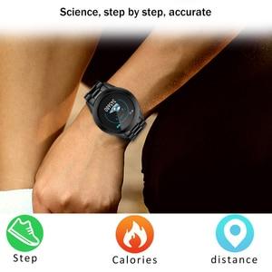 Image 4 - LIGE موضة جديدة ساعة ذكية الرجال LED متعددة الوظائف الرياضة ساعة ذكية لنظام أندرويد ios مقاوم للماء جهاز تعقب للياقة البدنية smartwatch