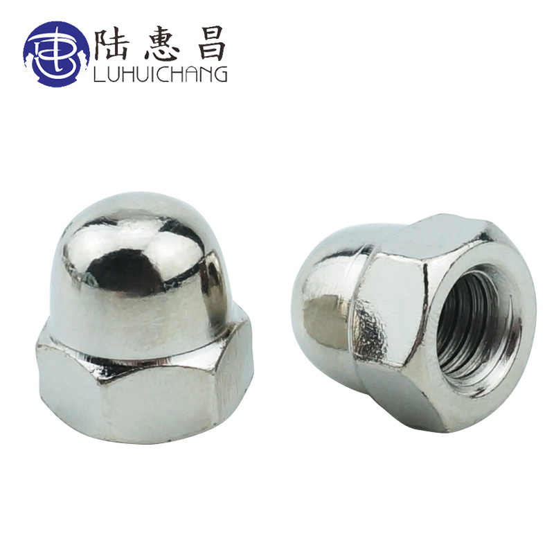 LUCHANG Metric thread M3 M4 M5 M6 M8 M10 304 Stainless Steel Cap Nuts Decorative Cover Semicircle Acorn Nut