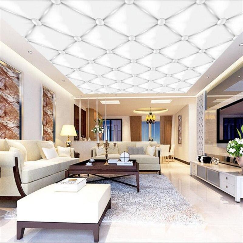 Nach Tapeten 3d Stereo Foto Wandbild Vector Elegante Atmosphäre Einfache Weiß Anhänger wohnzimmer papel de parede 3d tapete