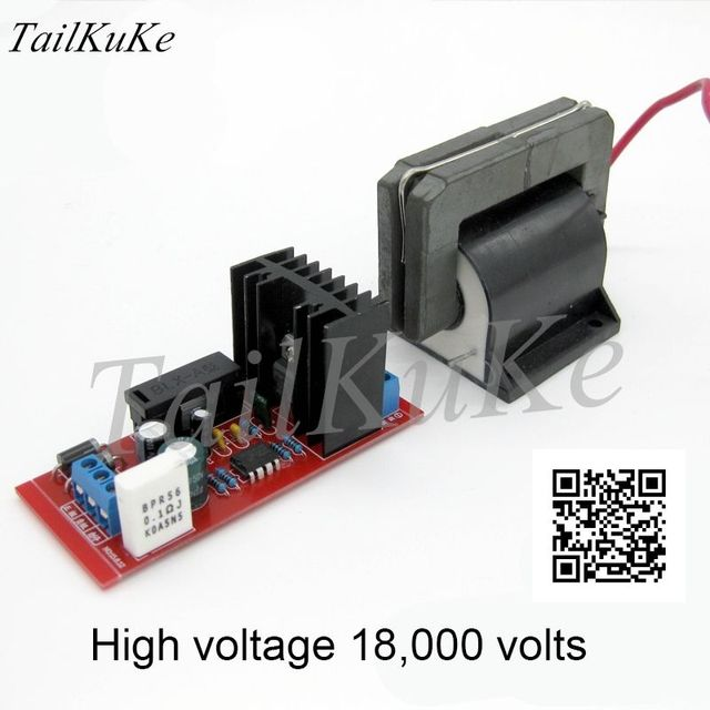 Płyta napędowa pakietu wysokiego napięcia, Panel sterowania, Generator elektrostatyczny, części falownika wysokiego napięcia