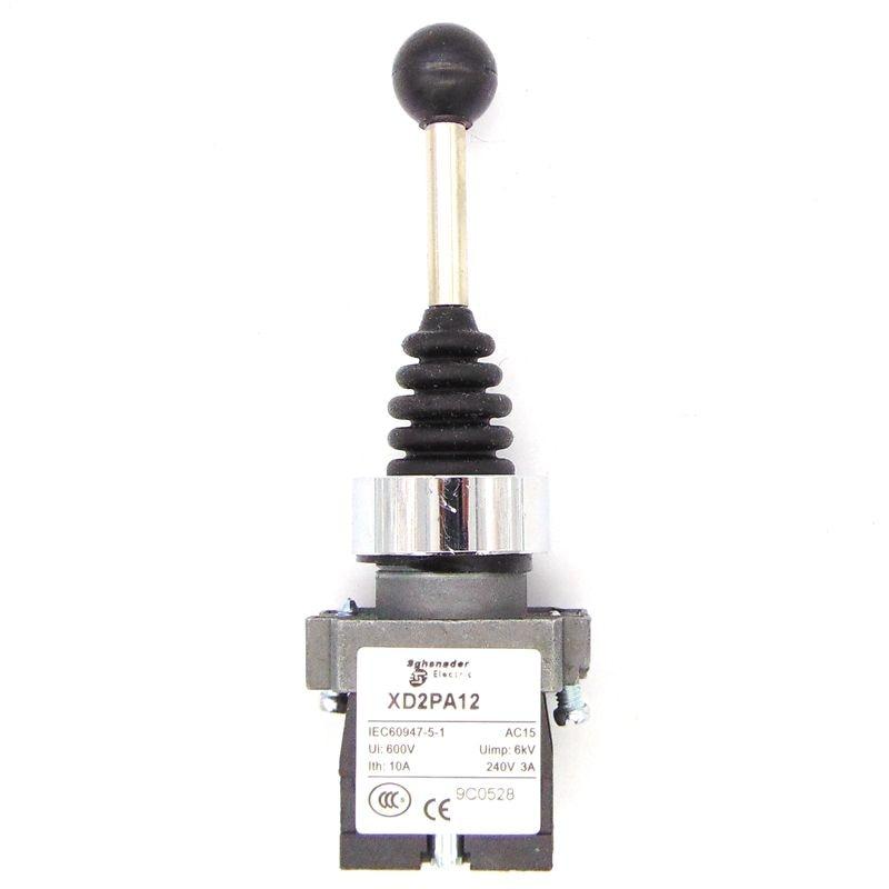 XD2-PA12 joystick denetleyicisi yaylı joystick anahtarı XD2-PA12CR döner anahtarlar kendinden kilitleme