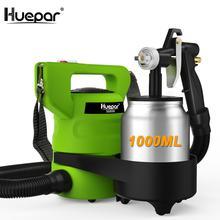 Spray-Gun Nozzles Paint-Sprayer Huepar Electric-650-Watt Two-Copper with